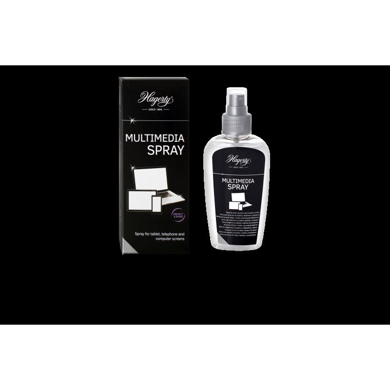 Multimedia Spray : limpiador de pantallas