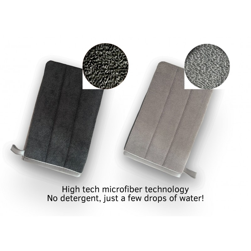 Microfiber Glove for Stainless Steel Surfaces